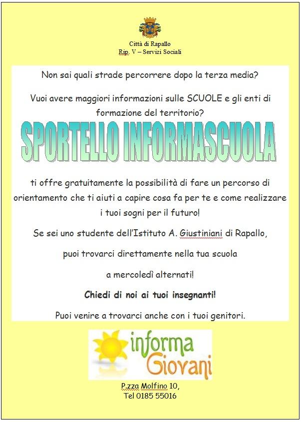 Volantino InformaScuola
