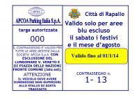 Pass Area Blu Artigiani