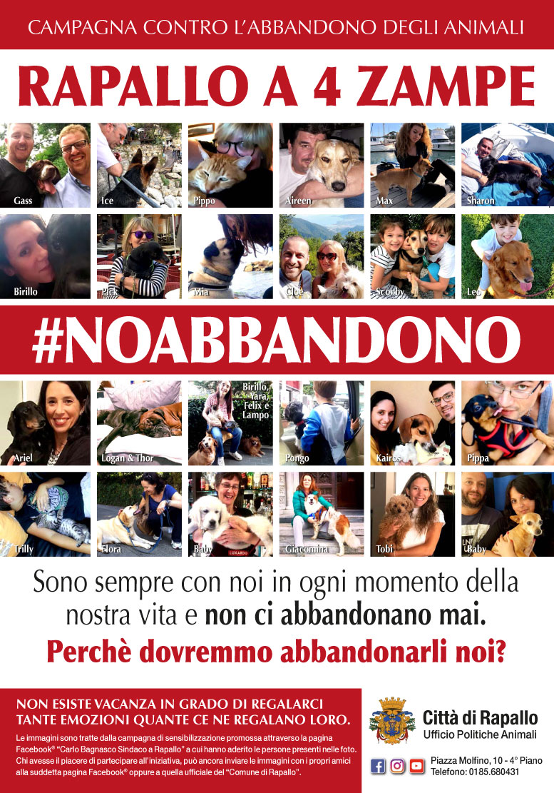 Manifesto Campagna NoAbbandono 2018