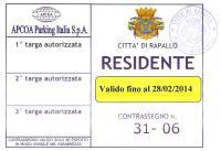 Pass residente