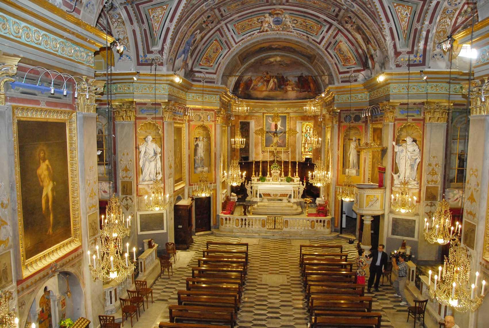 Navata Chiesa San Michele