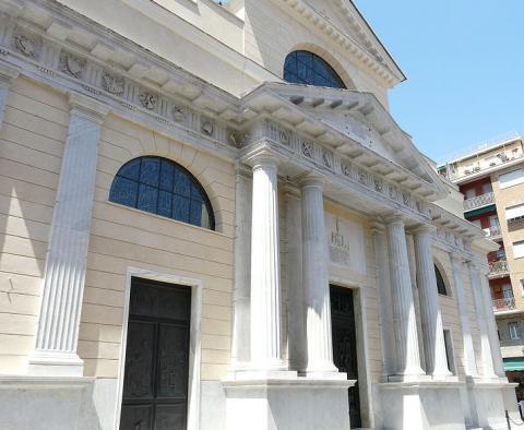Facciata Basilica di Rapallo