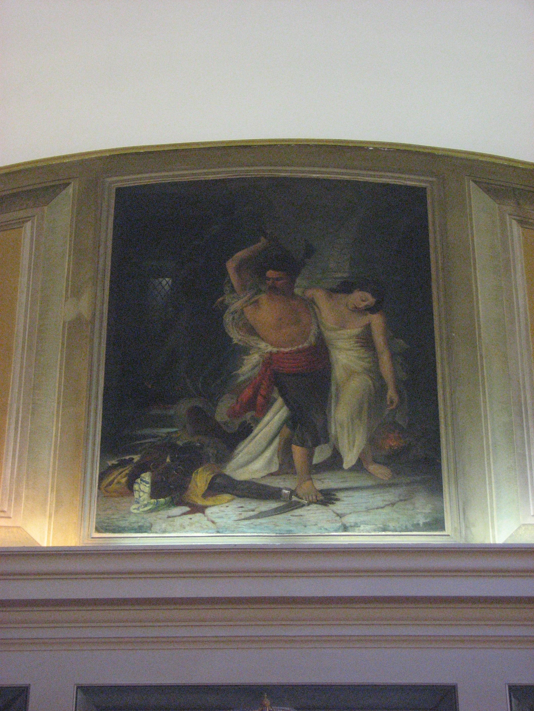 Quadro raffigurante Bartolomeo Magiocco nel salone consiliare