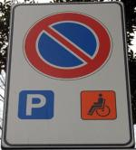 Cartello invalidi
