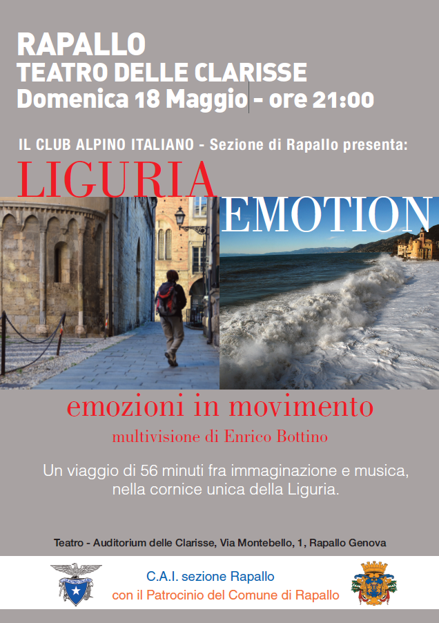 """LIGURIA EMOTION - Emozioni in movimento"""