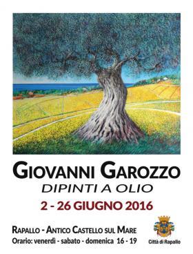 """Mostra di GIOVANNI GAROZZO - """"Dipinti a olio"""""""