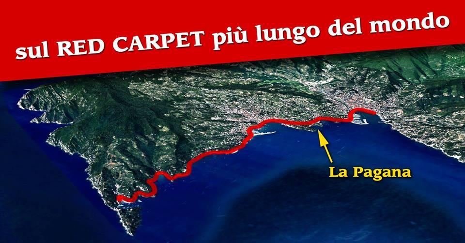 Camminata di Primavera sul Red Carpet più lungo del mondo