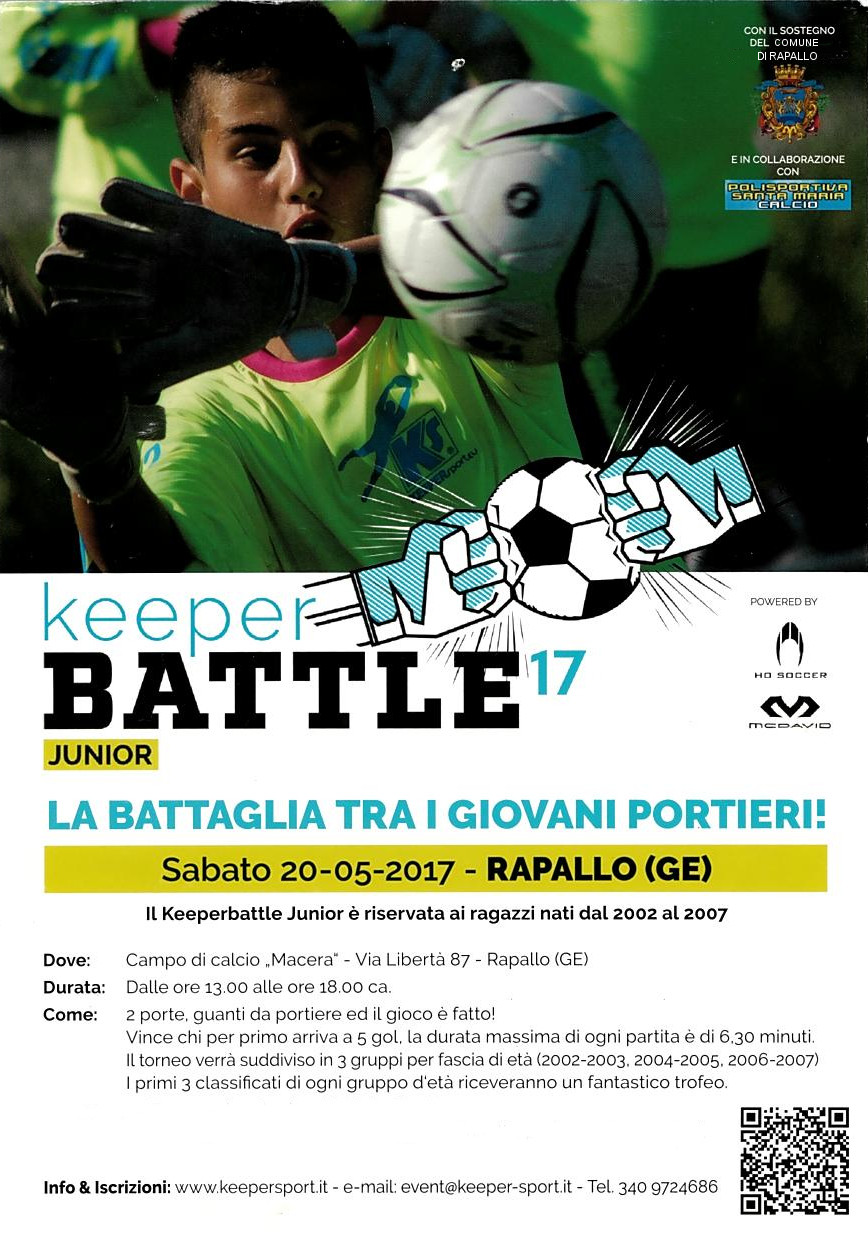 KEEPERBATTLE KIDS - La battaglia dei portierI