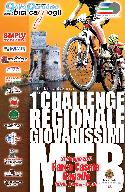 1° Challenge Regionale Giovanissimi - 10° Pedalata Azzurra