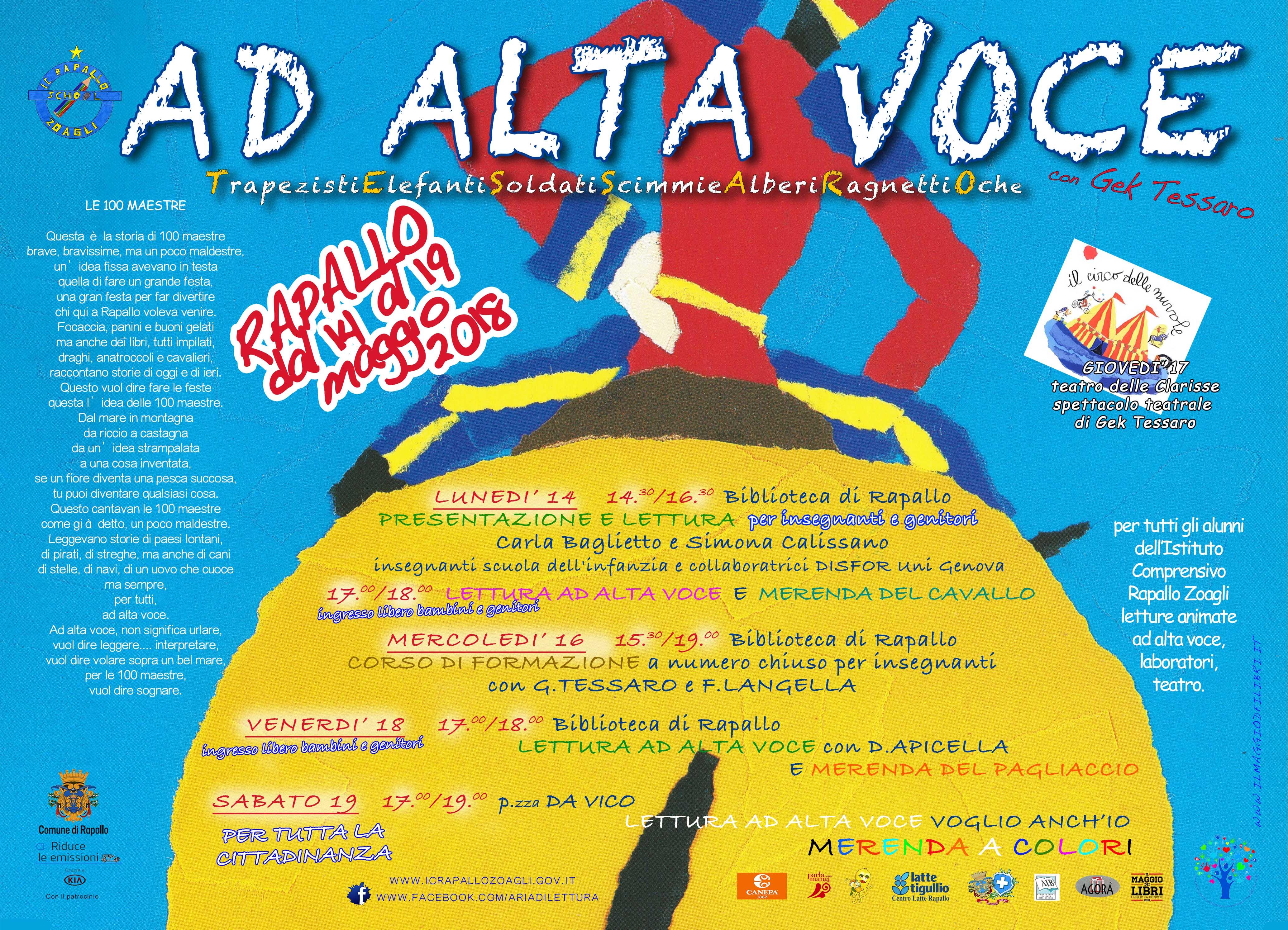"""AD ALTA VOCE con GEK TESSARO"""