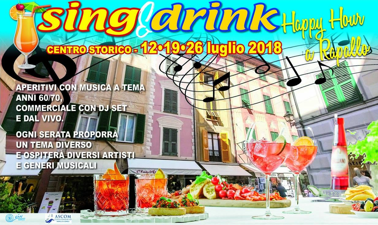 Sing & Drink - Happy hour a Rapallo