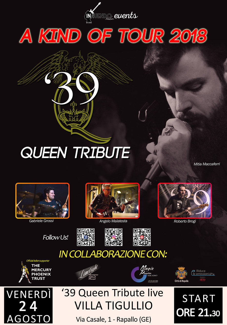 '39 - QUEEN TRIBUTE BAND