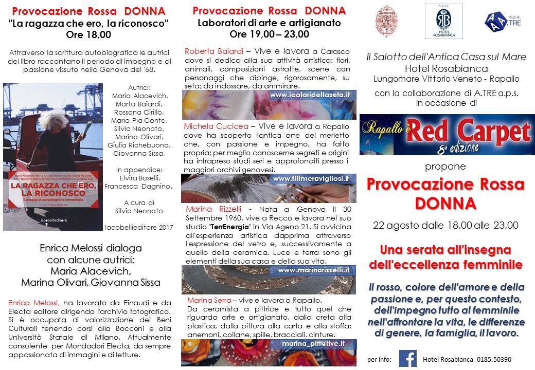 """""""Provocazione Rossa: Donna"""""""