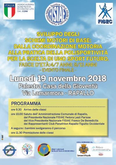 Evento conclusivo Progetto FISIAE