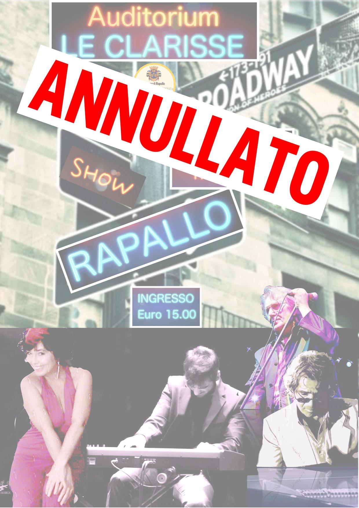 """""""CONCERTO GOSPEL"""" ANNULLATO"""