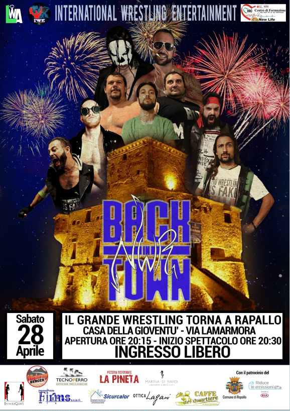 IWE - NWR Back in Town -  Spettacolo di Wrestling