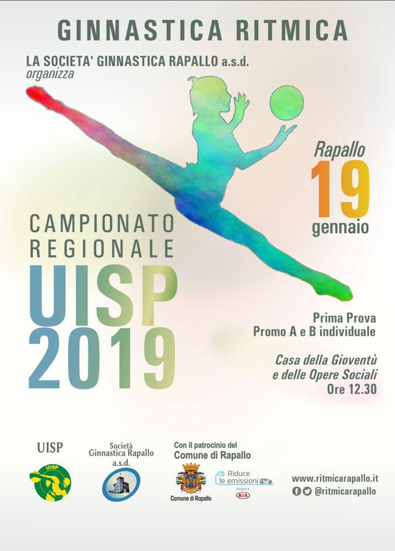 CAMPIONATO REGIONALE UISP DI GINNASTICA RITMICA