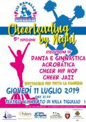 CHEERLEADING BY NIGHT
