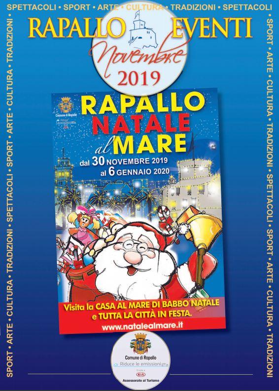Guarda questa foto sull'evento La casa al Mare di Babbo Natale a Rapallo