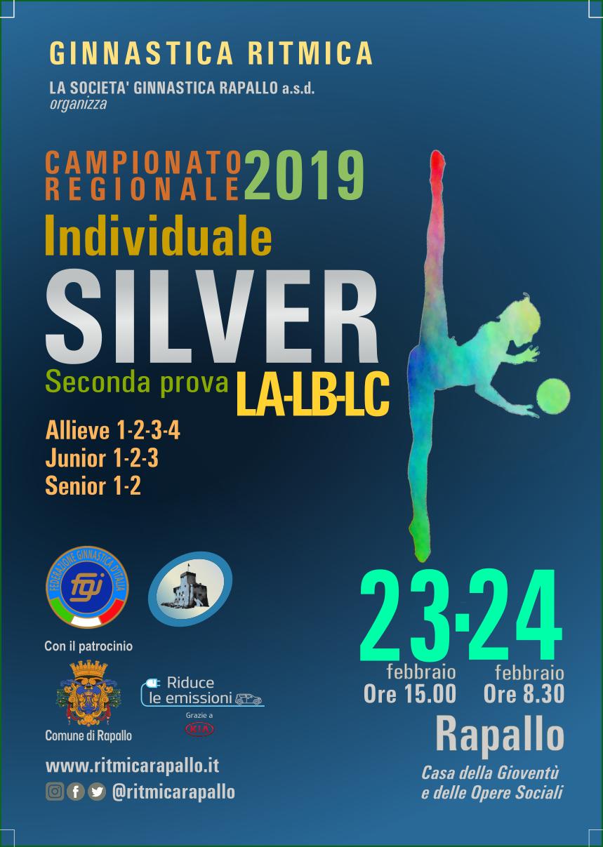 CAMPIONATO REGIONALE UISP 2019 DI GINNASTICA RITMICA