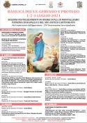 FESTE DI LUGLIO 2021 - SOLENNI FESTEGGIAMENTI IN ONORE N.S. DI MONTALLEGRO