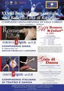 """XXVIII FESTIVAL INTERNAZIONALE DEL BALLETTO """"CITTÀ DI RAPALLO"""""""