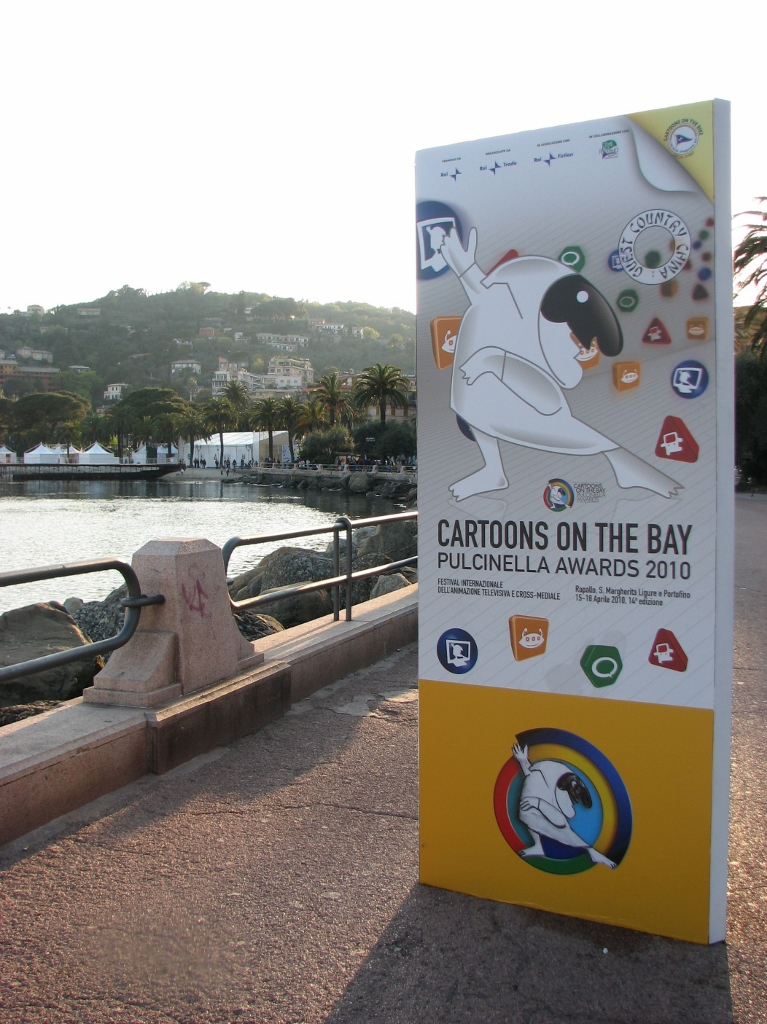 Cartoons on the bay