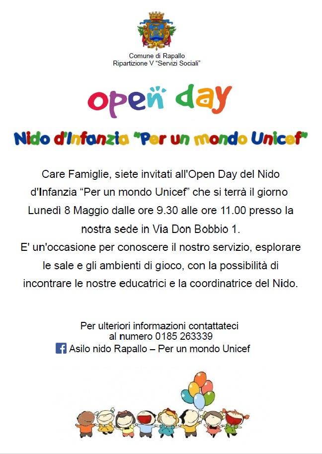 Open Day Nido d'Infanzia