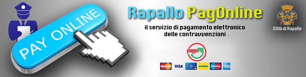 Servizi Online: pagamento online contravvenzioni Polizia Municipale