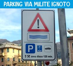 Parking via Milite Ignoto - Zona Disco 120 minuti