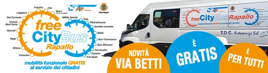 Free CityBus Rapallo - Mobilità funzionale GRATIS al servizio dei cittadini