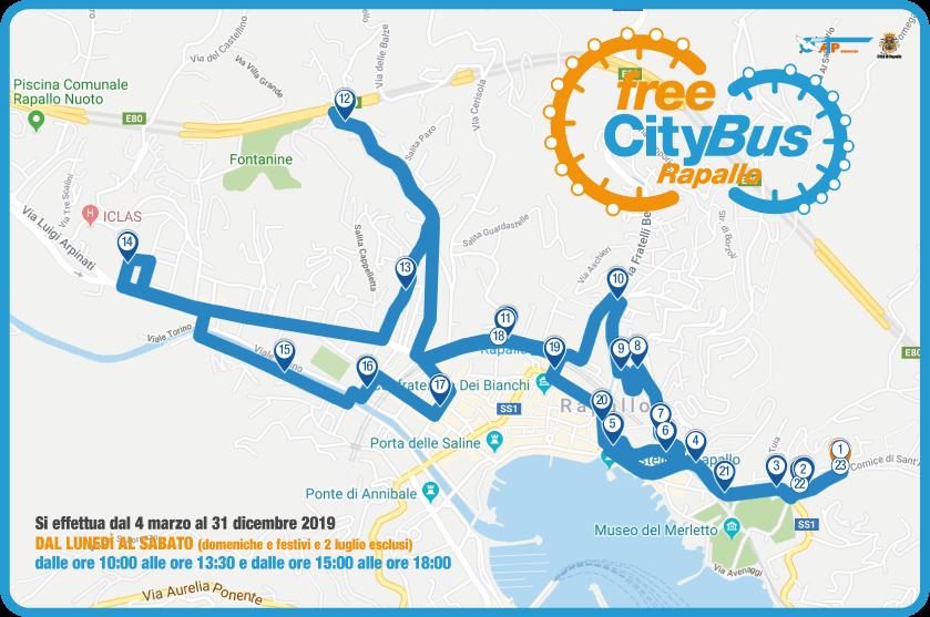 FreeCityBus, mobilità sostenibile gratuita al servizio dei cittadini