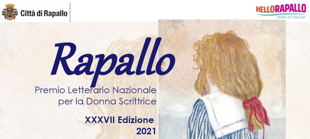 BANDO DI CONCORSO - XXXVII Premio letterario nazionale per la donna scrittrice - Rapallo 2021